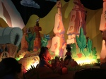 1 of 3 America scenes in It's  a Small World. Cowboys.