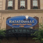 Entrance to Ratatouille the Ride