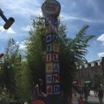 Entrance to Toy Story Playland